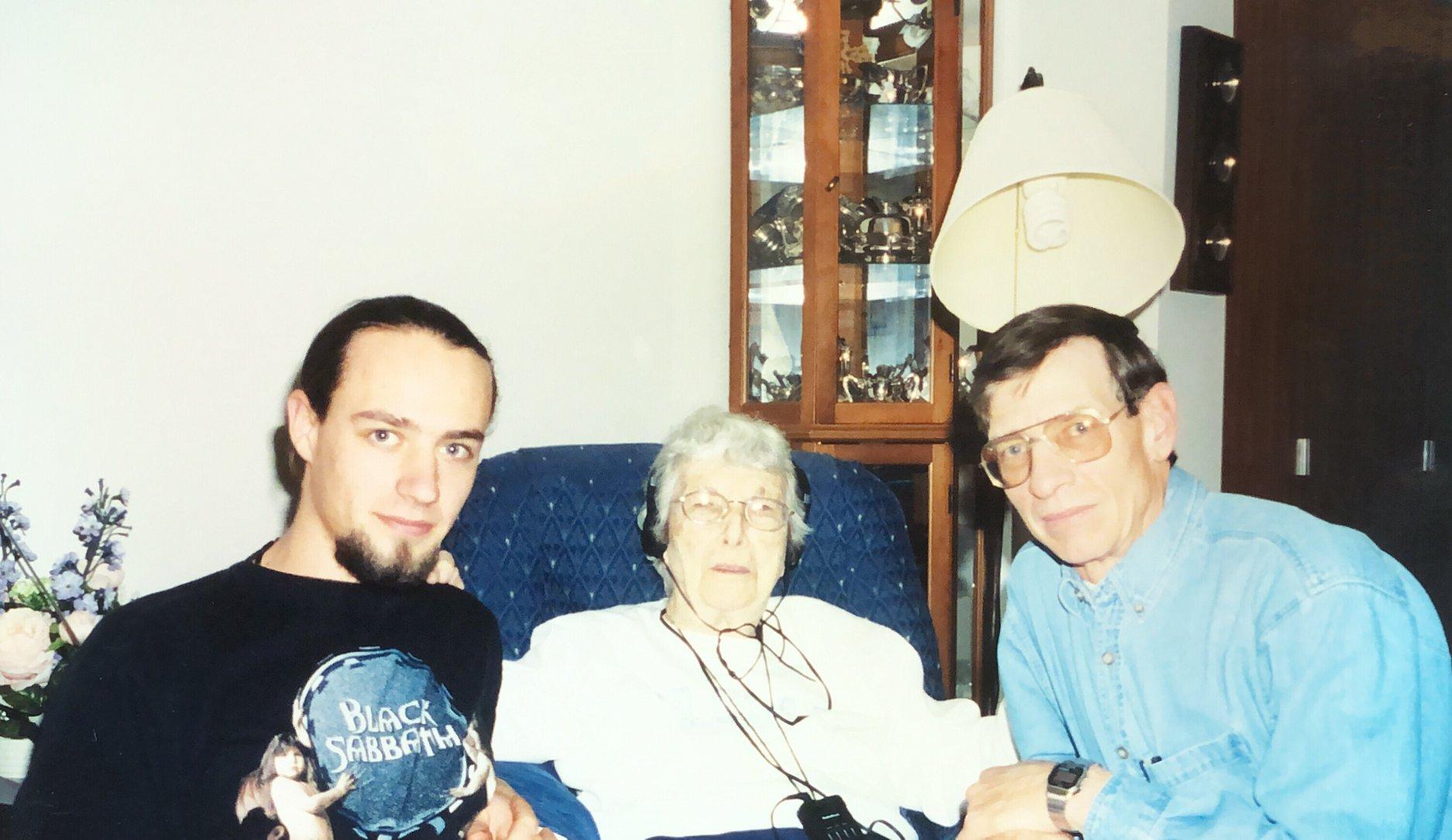 Thaddeus, Geraldine Koster, and John