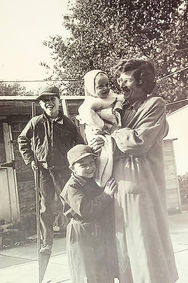 John, Tom, and Geraldine Koster